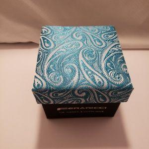 FERARICCI TIE, HANKY & CUFFLINKS BOX Set